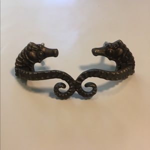 Anthropologie Bronze Seahorse Drawer Handles
